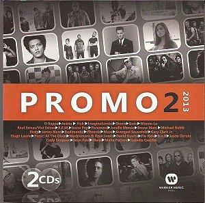 CD - Promo 2 2013 Warner Music (Vários Artistas) (Duplo)