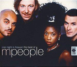 CD - M People – One Night In Heaven The Best Of M People - Importado (UK) CD DUPLO
