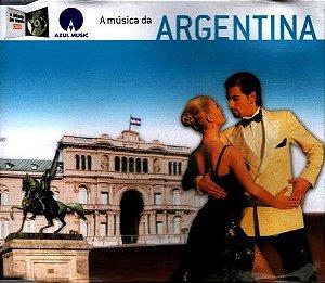 CD -  A Música Da Argentina (Varios Artistas)