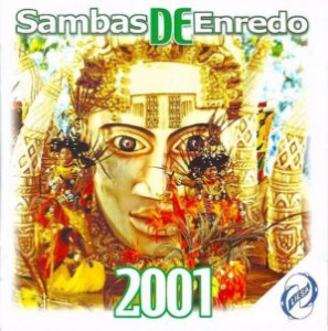 CD - Sambas De Enredo 2001 (Vários Artistas)