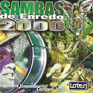CD - Sambas Enredo 2000 (Vários Artistas)