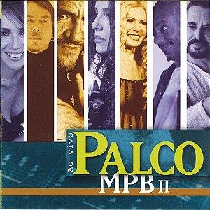 CD - Palco Mpb II Ao Vivo (Vários Artistas)
