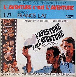 LP - L'aventure C'est L'aventure (Bande Sonore Originale Du Film) - Francis Lai