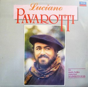 CD - Luciano Pavarotti – As Mais Belas Canções Napolitanas
