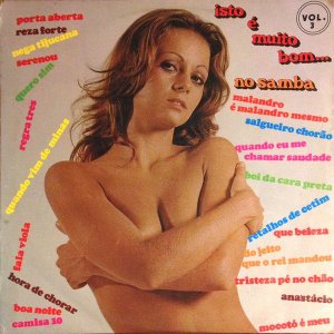 LP - Isto é muito bom... no samba Vol. 3 - Os Sambistas Do Asfalto