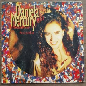 LP - Daniela Mercury – Música De Rua