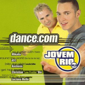 CD - dance.com - Jovem Rio 94,9 FM (Vários Artistas)