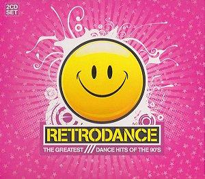 CD - Retrodance (The Greatest Dance Hits Of The 90's) - DUPLO (Vários Artistas)
