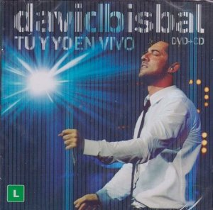 CD - David Bisbal – Tú Y Yo En Vivo - DUPLO CD/DVD