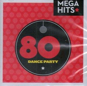 CD - Mega Hits - 80s Dance Party (Vários Artistas)