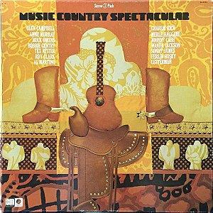 LP - Music Country Spectacular (Vários Artistas) (BOX com 3 LPs) - Importado (US)