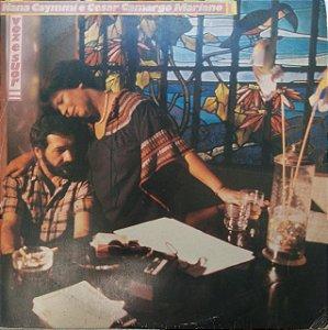 LP - Nana Caymmi e César Camargo Mariano - Voz e Suor