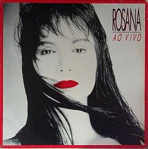 LP - Rosana – Rosana Ao Vivo