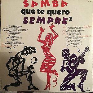 LP - Samba Que Te Quero Sempre - Vol. 2 (Vários Artistas)