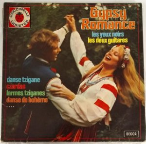 LP - Laszlo Tábor And His Orchestra – Gypsy Romance - Importado (France)