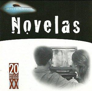 CD - Novelas (Coleção Millennium - 20 Músicas Do Século XX) (Vários Artistas)