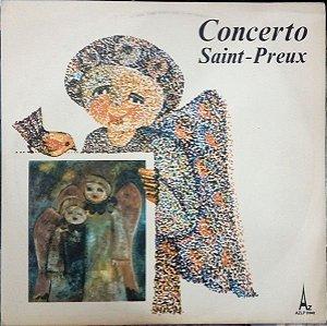 LP - Saint-Preux – Bande Originale Du Concerto Pour Une Voix (Vários Artistas)