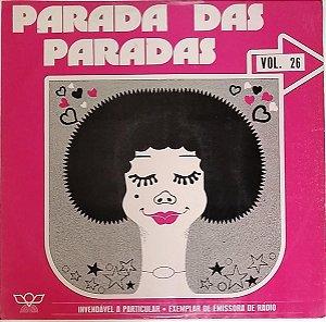 LP - Parada Das Paradas vol. 26 (Vários Artistas)