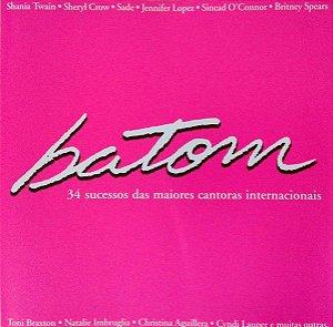 CD - Batom - DUPLO (Vários Artistas)