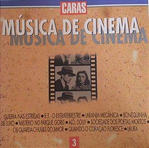 CD - Música de Cinema - Vol. 3 - (Vários Artistas)