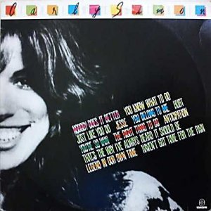 LP - Carly Simon – The Best Of Carly Simon