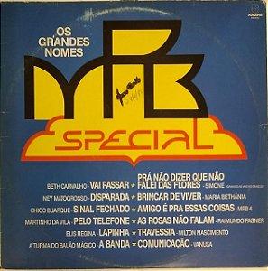 LP - MPB Especial - Os Grandes Nomes (Vários Artistas)
