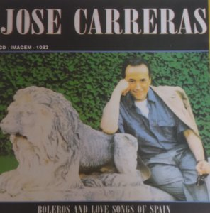 CD - José Carreras - Boleros And Love Songs Of Spain