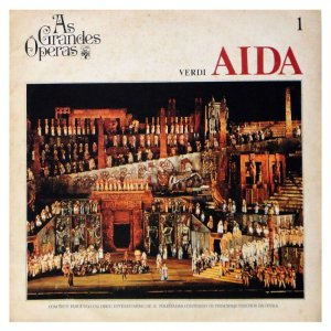 Lp - As Grandes Óperas - Verdi Aida