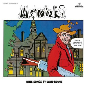 CD - David Bowie ‎– Metrobolist (Nine Songs By David Bowie) - (Novo - Lacrado) -