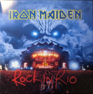 CD - Iron Maiden ‎– Rock In Rio (Novo - Lacrado) - (Cd Duplo ) - Remastered