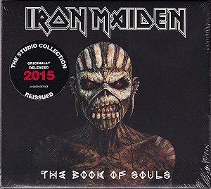CD - Iron Maiden – The Book Of Souls (Digipack) - (Cd duplo)   - Novo/ lacrado