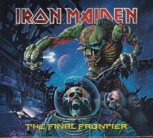 CD - Iron Maiden ‎– The Final Frontier (Digipak)  - Novo / Lacrado