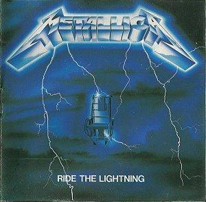 CD – Metallica - Ride The Lightning- Novo (LACRADO)