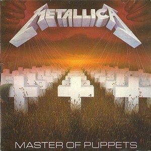 CD – Metallica – Master Of Puppets - Novo (LACRADO)