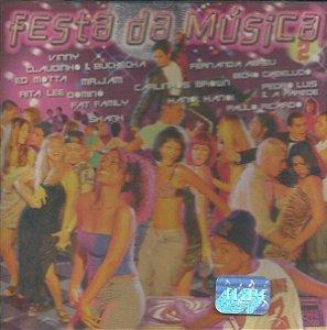 CD - Festa da Música vol 2 (Vários Artistas)