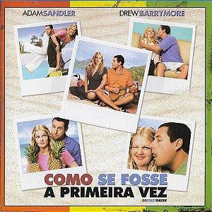CD - Como Se Fosse A Primeira Vez  - (Music From The Motion Picture) (Vários Artistas)