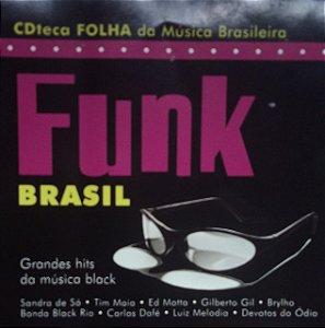 CD -  Funk Brasil - Grandes Hits Da Música Black (Vários Artistas)