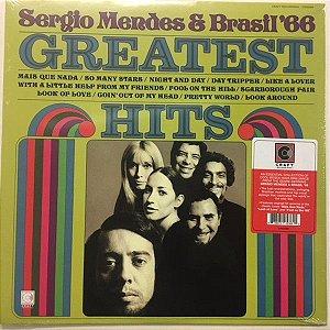 LP - Sergio Mendes & Brasil '66 – Greatest Hits - IMPORTADO (EUA) NOVO (LACRADO)