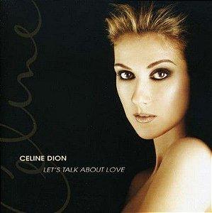 CD - Celine Dion - Let's Talk About Love (IMP)