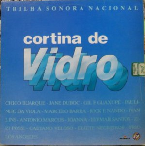 LP - Cortina De Vidro Nacional (Novela SBT) (Vários Artistas)