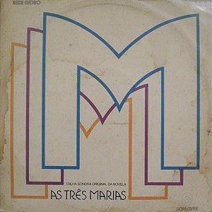 LP - As Três Marias Nacional (Novela Globo) (Vários Artistas)