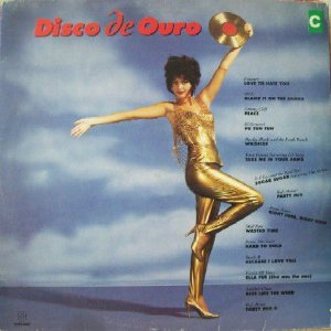 LP - Disco De Ouro (Vários Artistas)