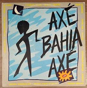 LP - Axé Bahia Axé (Vários Artistas)