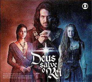 CD - Deus Salve O Rei (Novela Globo) - Novo (Lacrado) (Vários Artistas) Digipack