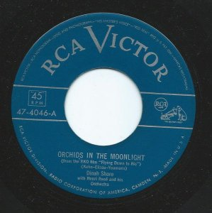 COMPACTO -  Dinah Shore - Orchids In The Moonlight / Aroud The Corner (EUA)