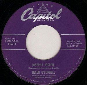 COMPACTO - Hellen O Connell - Six Buzzard feathers And Mockin Birds Tail / Joseph! Joseph! (EUA)