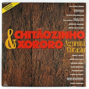 LP - Chitãozinho & Xororó – Aguenta Coração