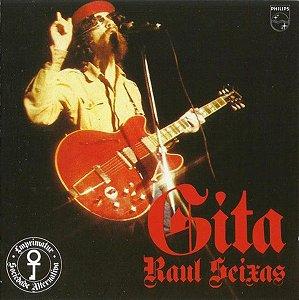 CD - Raul Seixas – Gitâ Novo (Lacrado)
