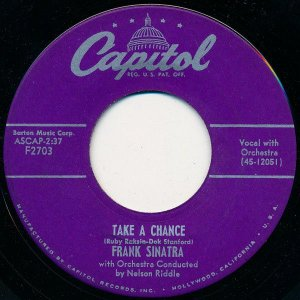 COMPACTO - Frank Sinatra - Young At Heart / Take A Chance (EUA)