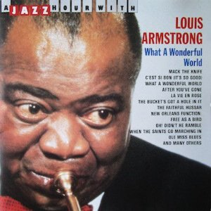 CD - Louis Armstrong - What A Wonderful World